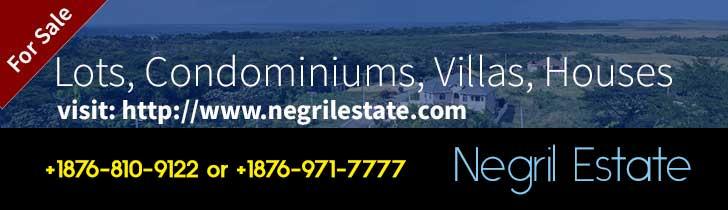 Negril Estates Banner Ad